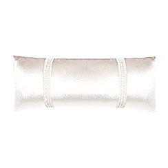 Kylie Minogue at home - Cream 'Hotel' cushion