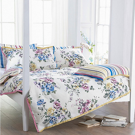 Monsoon Home - White 'Elita' bed linen