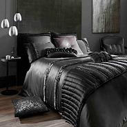 Kylie Minogue Black 'Cassia' bed linen