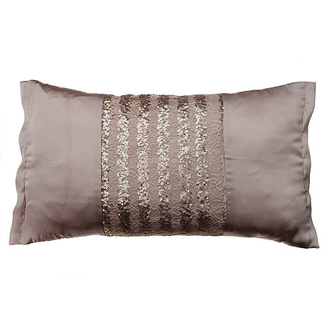 Kylie Minogue at home - Kylie Minogue Bronze +Misha+ Cushion
