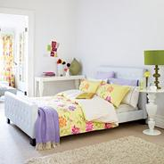 Yellow 'Capri' bed linen