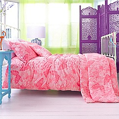Accessorize - Pink 'Kimono Butterfly' bedding set