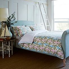 Ditton Hill - Blue and pink 'Bluebell' bedding set
