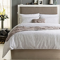Ditton Hill - Cream textured 'Boden' bedding set