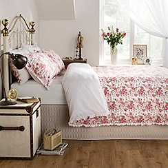 Ditton Hill - Pink floral print 'Sarah' bedding set