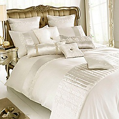 Kylie Minogue at home - Ivory 'Madaline' bed linen
