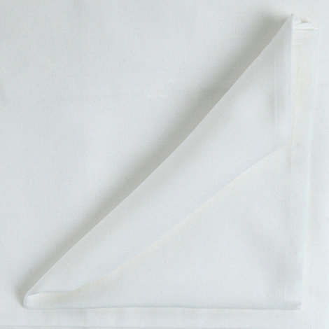 Home Collection Basics - Set of four white napkins