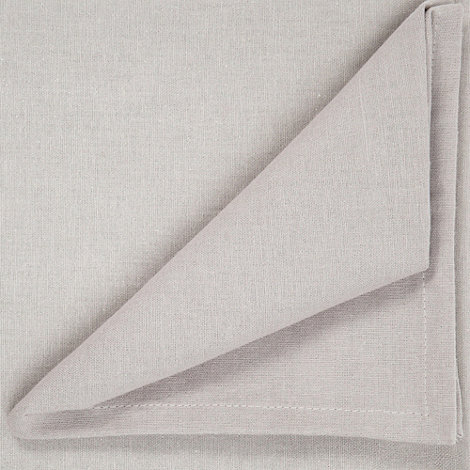 Home Collection Basics - Taupe small rectangular table cloth