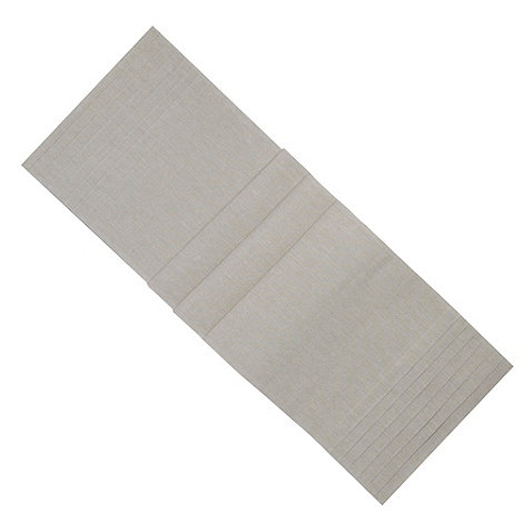 RJR.John Rocha - Natural pleated table runner