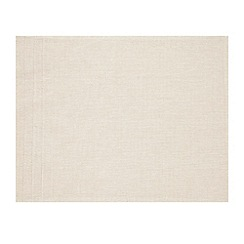 RJR.John Rocha - Set of two natural pleated placemats