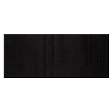 RJR.John Rocha - Charcoal pleated table runner