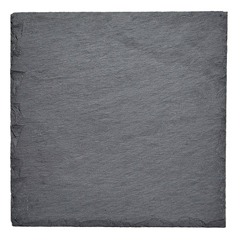 RJR.John Rocha - Set of two dark grey slate placemats