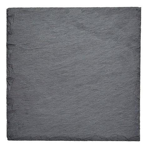 RJR.John Rocha - Pack of 2 dark grey slate placemats