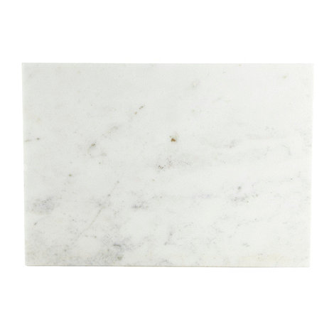 RJR.John Rocha - Designer set of two off white marble placemats