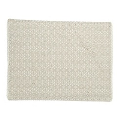 RJR.John Rocha - Designer set of two cream broderie placemats