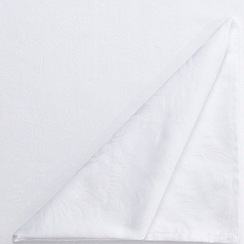 J by Jasper Conran - Large white 'Audley' tablecloth