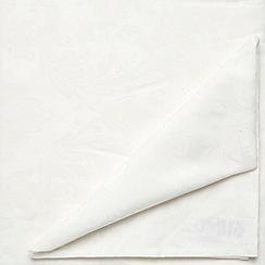 J by Jasper Conran - Medium ivory 'Audley' tablecloth