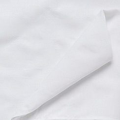 J by Jasper Conran - White large 'Kensington' checked table cloth