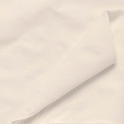 J by Jasper Conran - Ivory large 'Kensington' checked table cloth