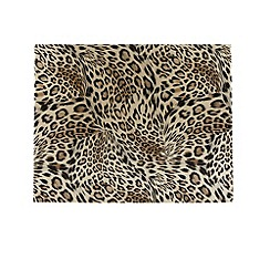 Star by Julien MacDonald - Set of four gold leopard printed place mats
