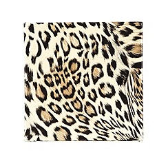 Star by Julien MacDonald - Set of four gold leopard printed coasters