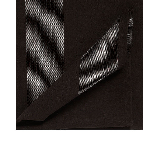 Star by Julien Macdonald - Set of two black metallic napkins