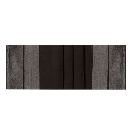 Star by Julien Macdonald - Black metallic border table runner