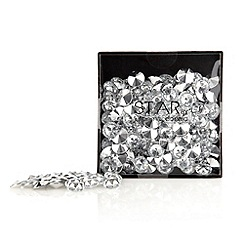 Star by Julien MacDonald - Silver table gems