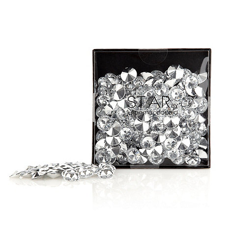 Star by Julien Macdonald - Silver table gem decorations