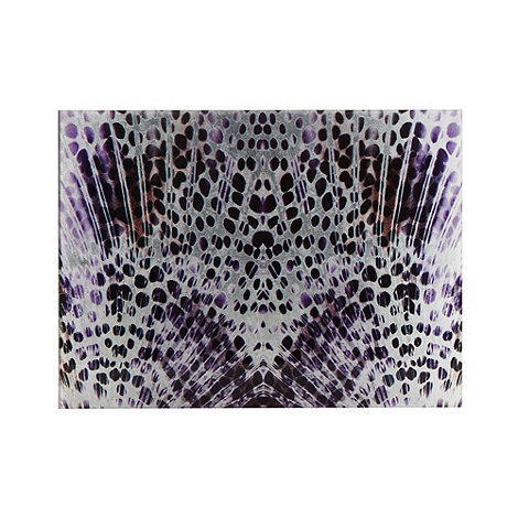Star by Julien Macdonald - Set of two glass feather placemats