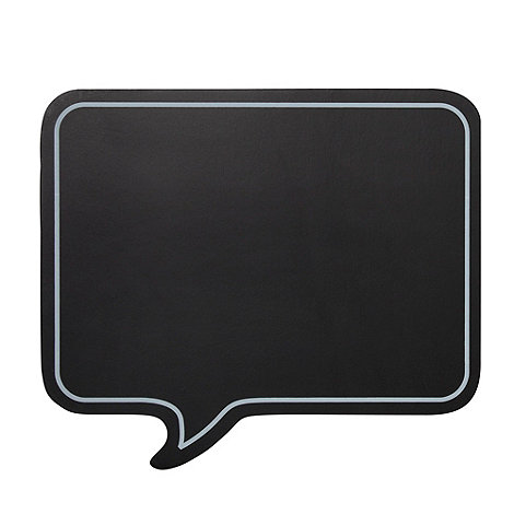 Ben de Lisi Home - Set of two +Speech Bubble+ placemats