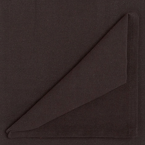 Home Collection Basics - Black small rectangular cotton table cloth