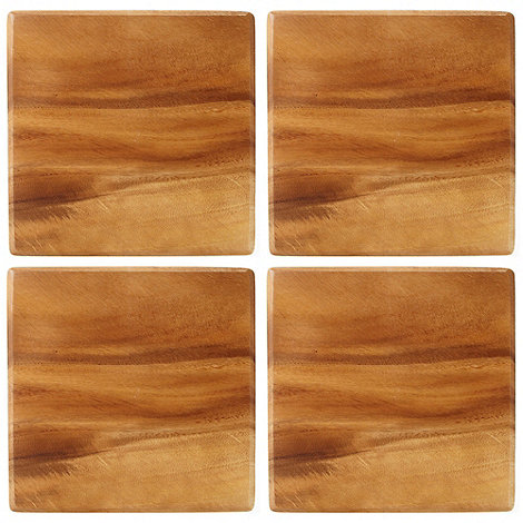 T&G Woodware - Acacia wood pack of four placemats