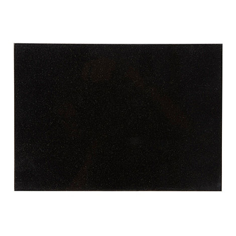 Creative Tops - Set of two black granite placemats