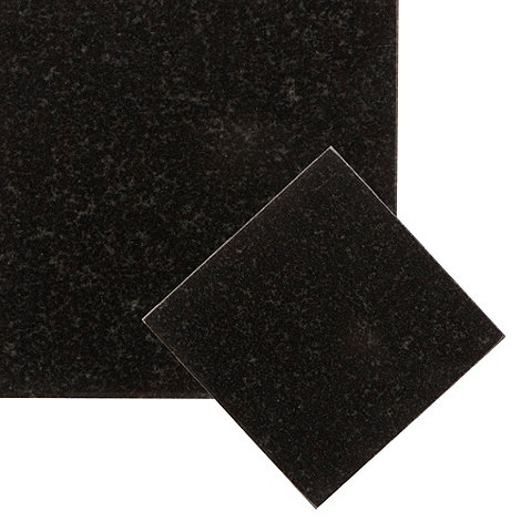 Creative Tops - Set of two black granite coasters