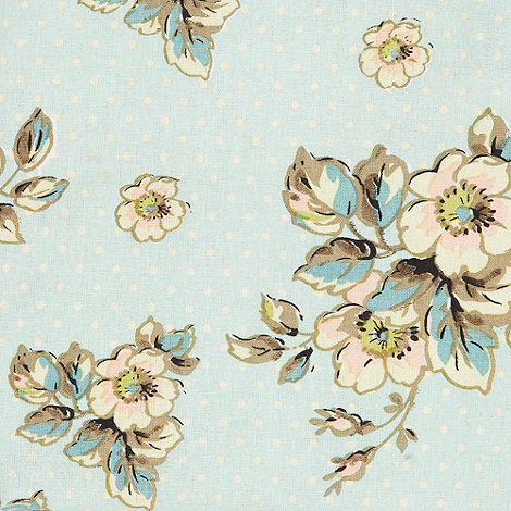 Katie Alice - Light green floral polka dotted table cloth