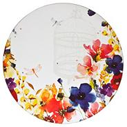 Denby set of four watercolour flower placemats
