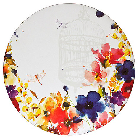 Denby - Set of four watercolour flower placemats