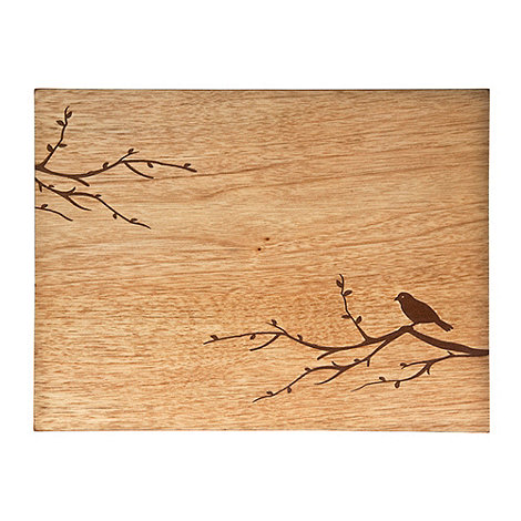 Denby - Set of two wooden bird placemats