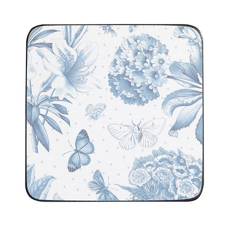 Portmeirion - Set of six blue +Botanic+ coasters