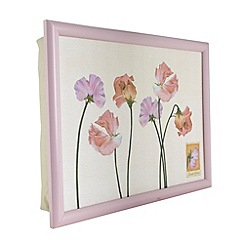 Creative Tops - Pale pink sweet peas lap tray