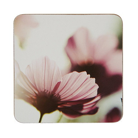 Inspire - Set of six photographic floral coasters