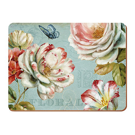 Creative Tops - Set of six +Romantic Garden+ placemats