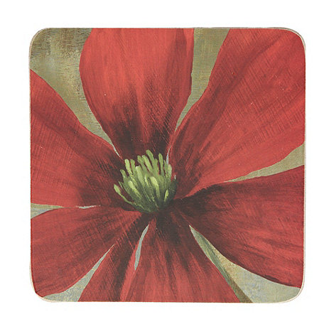 Creative Tops - Set of six +Flower Study+ coasters