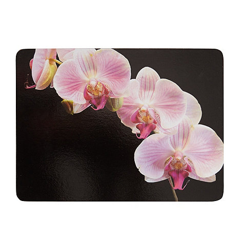 Creative Tops - Set of six black orchid placemats