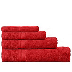 Home Collection - Dark red Egyptian cotton towels