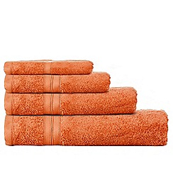Home Collection - Orange Egyptian cotton towels