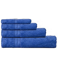 Home Collection - Royal blue Egyptian cotton towels