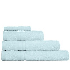 Home Collection - Light blue Egyptian cotton towels
