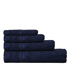 Home Collection - Dark blue Egyptian cotton towels
